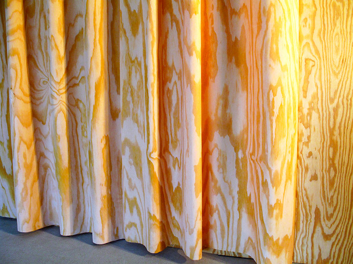 Plywood Curtains (detail)
